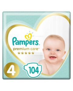Πάνες Pampers Premium Care Mega Box Νο4 (9-14kg) 104τεμ