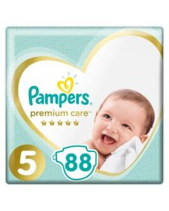 Πάνες Pampers Premium Care Mega Box Νο5 (11-16kg) 88τεμ
