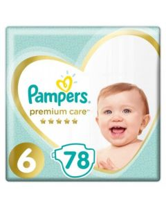Πάνες Pampers Premium Care Mega Pack Νο 6 (13+kg) 78τεμ