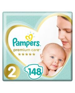 Πάνες Pampers Premium Mega Pack Νο 2 (4-8kg) 148τεμ