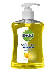 Dettol Αντιβακτηριδιακό Υγρό Κρεμοσάπουνο με Αντλία Citrus (Αναζωογονητικό) 250ml