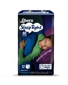 Πάνες Libero SleepTight  Νο10 (35-60kg) 12τεμ