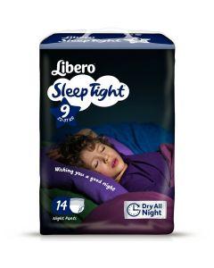 Πάνες Libero SleepTight Νο9 (22-37kg)14τεμ