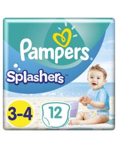 Pampers Πάνες Splashers (12τεμ) Μεγεθος 3-4 (6-11kg)