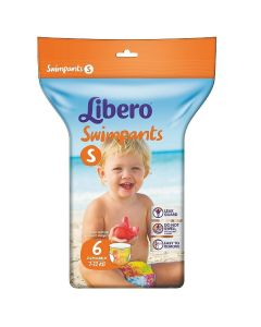 Πάνες Libero Swimpants  Small (7-12kg) 6τεμ