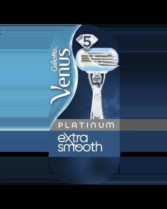 Gillette Venus Platinum Extra Smooth Ξυριστική Μηχανή & 2 Ανταλλακτικά