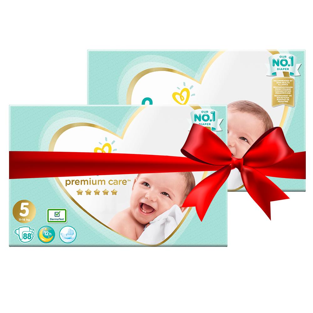 Πάνες Pampers Premium Care Mega Box Νο5 (11-16kg) 176τεμ (2x88τεμ)