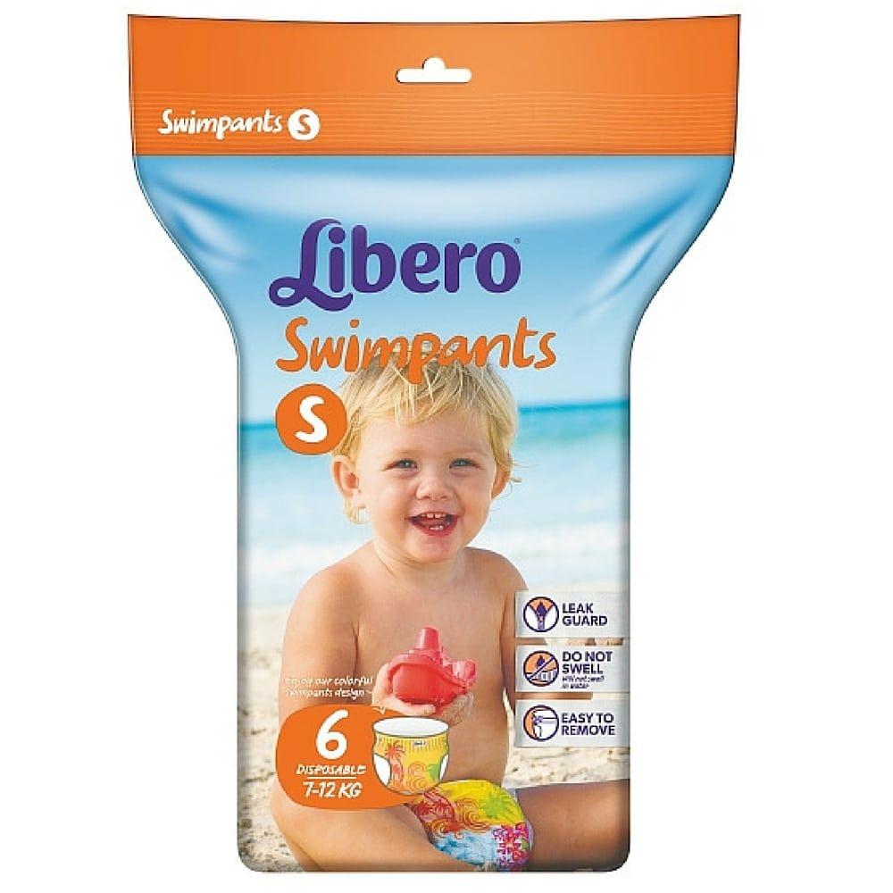 Πάνες Libero Swimpants  Small (7-12kg) 6τεμ