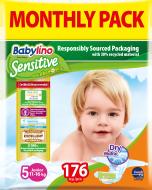 Πάνες Babylino Sensitive Monthly Pack No5 (11-25Kg) 176τεμ.