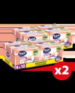 Σερβιέτες ακράτειας με βαμβάκι Sani Lady Maxi Plus No4+  Οικονομική Συσκευασία 80τεμ (8x10τεμ)
