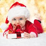 Μωρό και Πρώτα Χριστούγεννα