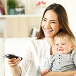Μωρό και τηλεόραση