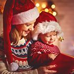 Κάνε τα πρώτα Χριστούγεννα με το μωρό σου αξέχαστα!
