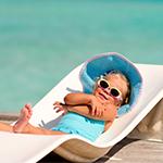 Πώς προστατεύω το παιδί μου από τον ήλιο στην παραλία